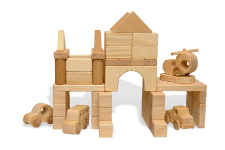 wood block set