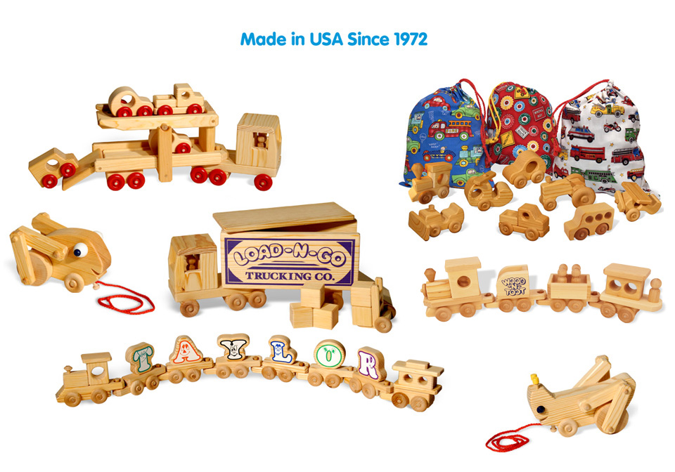 DoodleTown Toys, LLC Handcrafted Wooden Toys Made in the USA Since 1972